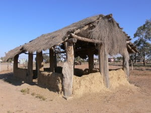 The Marree mosque...those walls could talk!