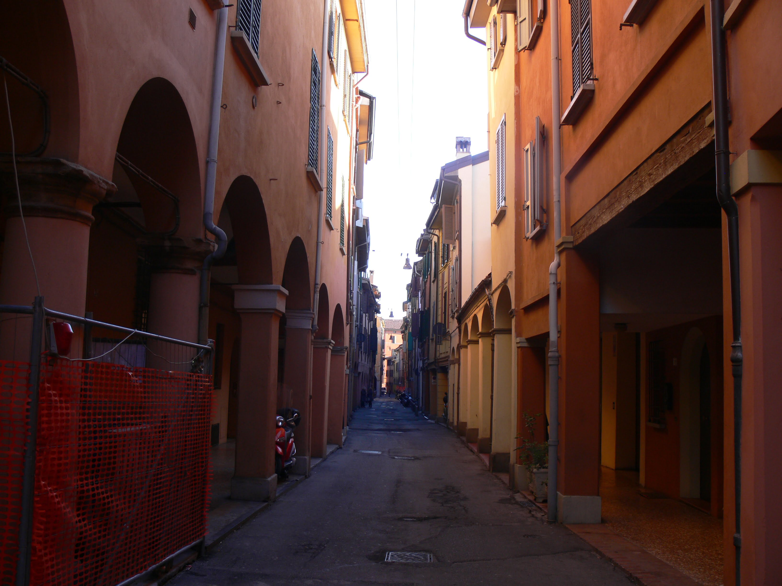 Our street in Bologna